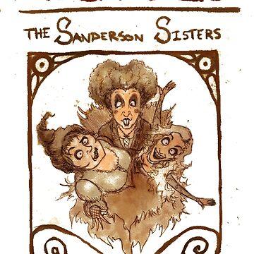 Sanderson Sisters by kitainialien