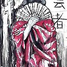 Geisha - the dancer - the entertainer - the artist by whittyart