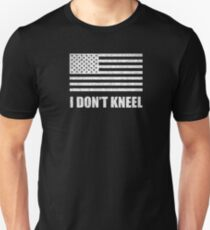 we stand for the flag Unisex T-Shirt