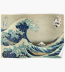 The Great Wave Off Katara Poster