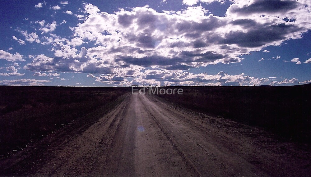Big Sky Country - Montana by Ed Moore