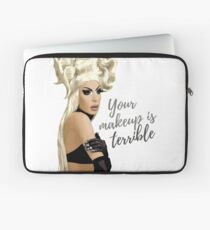 """""""Your makeup is terrible"""" Alaska Thvnderfvck 5000 quote Laptop Sleeve"""