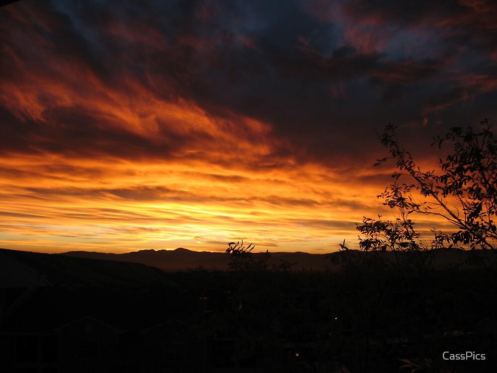 Sky on Fire by CassPics