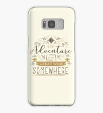 Beauty And The Beast Quote Samsung Galaxy Case/Skin