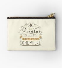 Beauty And The Beast Quote Studio Pouch