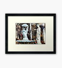 ~statuary~ Framed Print