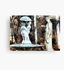 ~statuary~ Canvas Print