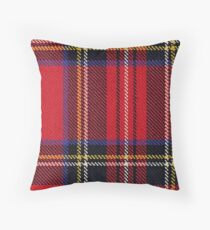 Stewart Tartan Throw Pillow
