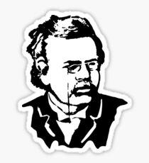 G. K. Chesterton Sticker