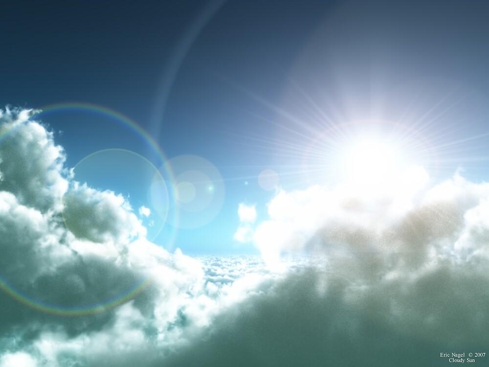 Cloudy Sun by Eric Nagel