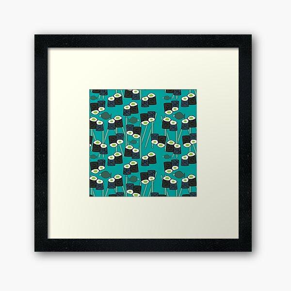 Sushi-licious! Framed Art Print