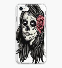 Santa Muerte Holy Woman iPhone Case/Skin