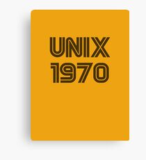 Unix 1970 Canvas Print