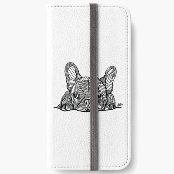 French Bulldog Puppy iPhone Wallet