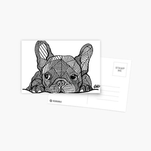 Cachorro Bulldog Francés Postal