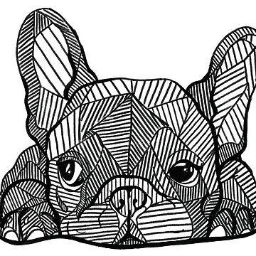 French Bulldog Puppy by georgieartist