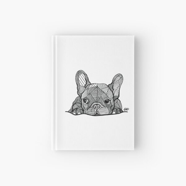 French Bulldog Puppy Hardcover Journal
