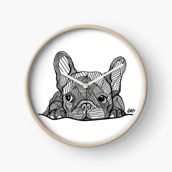 French Bulldog Puppy Clock