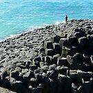Fingal Point beach. AUSTRALIA by hans p olsen