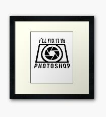 Photographer  Cool Gift Photography Framed Print