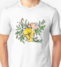 Yellow posy Unisex T-Shirt