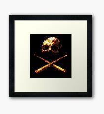Baseball Or Death Framed Print