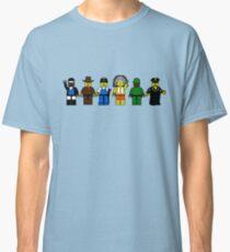 BRICK MEN VILLAGE PEOPLE- Camp Spoof Design  Classic T-Shirt
