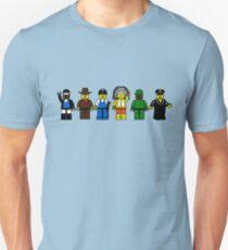 BRICK MEN VILLAGE PEOPLE- Camp Spoof Design  Unisex T-Shirt