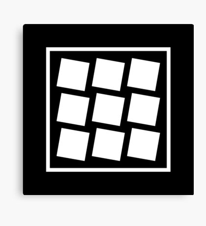 Tilted Square's Optical Illusion Canvas Print
