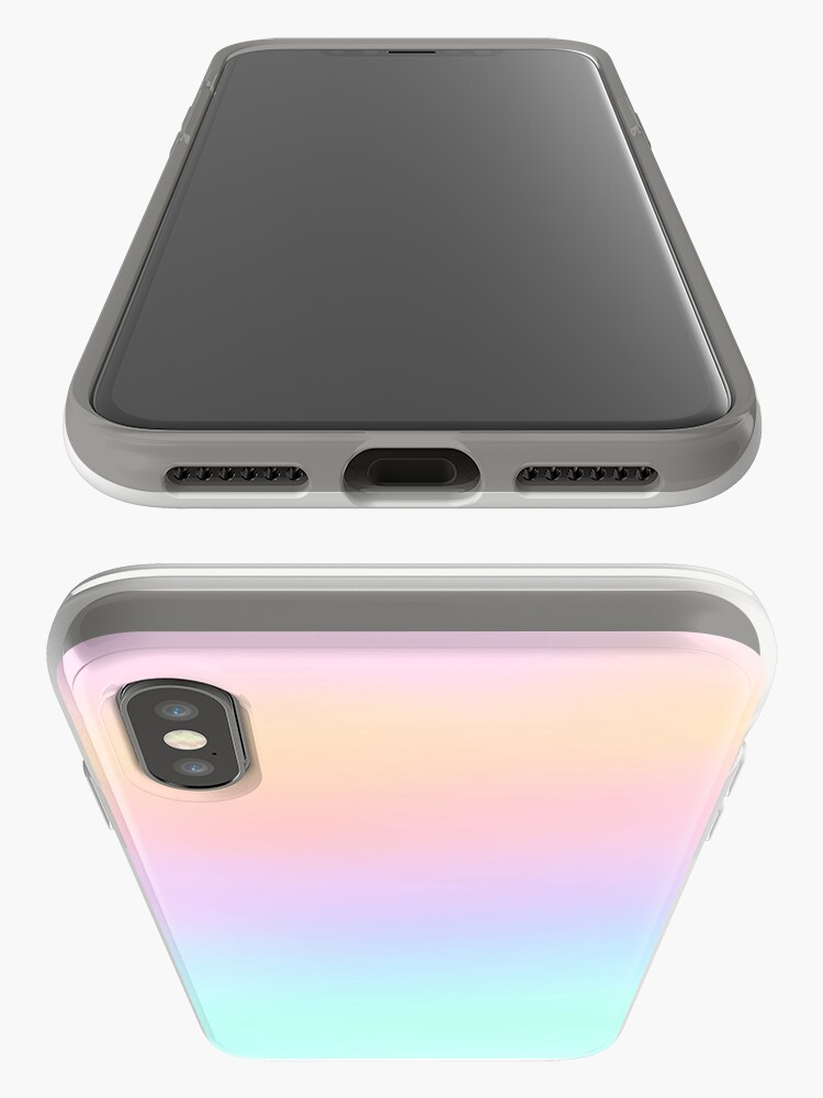 Vista alternativa de Funda y vinilo para iPhone pastel
