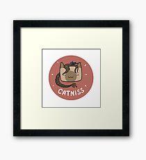 Catniss Framed Print