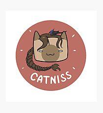 Catniss Photographic Print