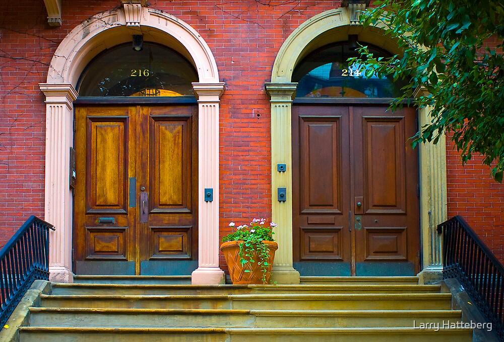 Behind Closed Doors by Larry Hatteberg