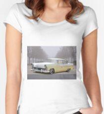 1956 Ford 'Mild Custom' Fairlane Hardtop Women's Fitted Scoop T-Shirt