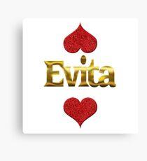 Evita Canvas Print