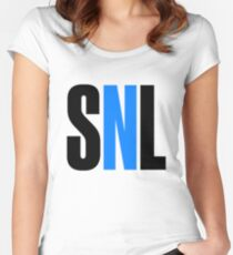 SNL Women's Fitted Scoop T-Shirt