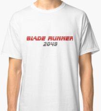 Camiseta clásica Blade runner 2049