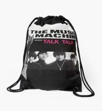 Turn On, The Music Machine, Talk Talk, 60's, Garage Rock Drawstring Bag