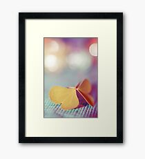 the butterfly 03 Framed Print