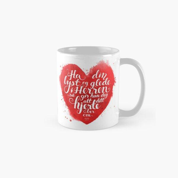 Ha din lyst og glede i Herren Classic Mug