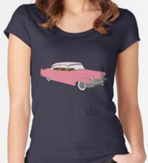 Pink Cadillac Women's Fitted Scoop T-Shirt