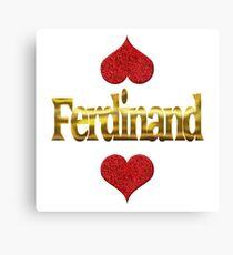 Ferdinand Canvas Print