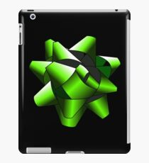 Green Present Bow iPad Case/Skin