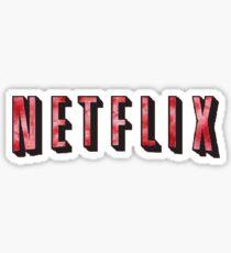 Netflix Tie Dye Sticker