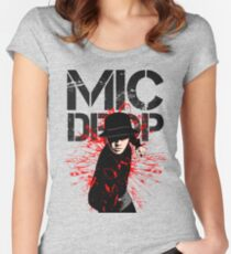 BTS - MIC DROP Women's Fitted Scoop T-Shirt