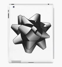 Silver Present Bow iPad Case/Skin