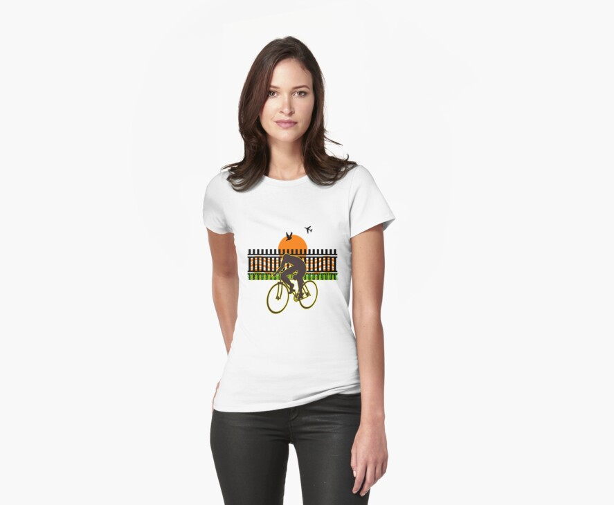 Cycling is cool by Arvind  Rau