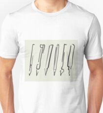 Outline pen, pencil, marker, brush T-Shirt