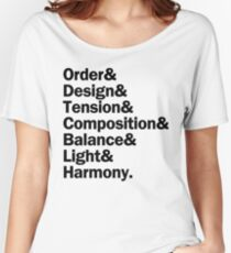 Sunday in the Park with George   Black Women's Relaxed Fit T-Shirt