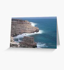 Kalbarri Cliffs Greeting Card